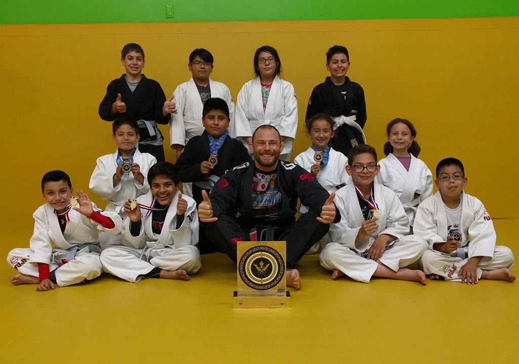 Kids Jiu Jitsu Ages 7 to 12