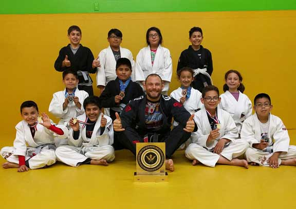 Kids Jiu Jitsu Ages 7 to 12